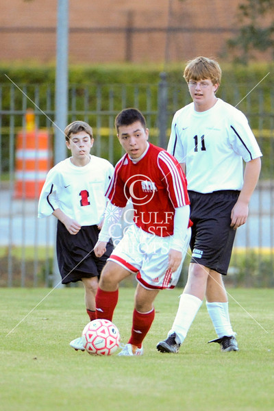 St. Thomas Episcopal comes to SJS to play the Mavericks' JV Soccer Team