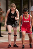 St. John's School hosts a JV Track and Field meet.