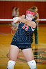 Houston-based St. John's School's Girls JV1 Volleyball team hosts Fort Bend Baptist Academy at Liu Court