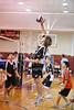 Houston's Saint John's School Upper School 2 Varsity Volleyball Team hosts visitors in the two-day Houston Cup competition. SJS finished second.
