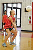 Houston's Saint John's School Middle School 7th Grade Girls B Volleyball Team hosts Kinkaid in a pre-season scrimmage