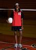 Houston's Saint John's School Middle School 8B Girls Volleyball Team poses for team portraits.