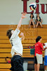Houston's Saint John's School Upper School Junior Varsity Volleyball Team hosts Episcopal High School.