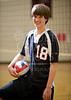 Houston-based St. John's school's varsity boys volleyball team poses for portraits