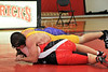 Houston-based St. John's School upper and middle school varsity and JV wrestling teams host cross-town rival Kinkaid for a Friday-night tournament. SJS extended their perfect season with a win.