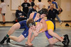 West Briar Middle School hosts the 16-team middle school state wrestling team championship in Houston. In this match, All Saints' Episcopal School of Ft. Worth's Saints wrestlers compete with the falcons of The Kinkaid School of Houston. All Saints wins.