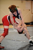 West Briar Middle School hosts the 16-team middle school state wrestling team championship in Houston. In this match, the Mavericks of St. John's School of Houston wrestle the Saints of All Saints Episcopal School of Fort Worth. St. John's wins.