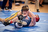 West Briar Middle School hosts the 16-team middle school state wrestling team championship in Houston. In this match, St. Francis Episcopal Day School's Wolves wrestle West Briar Middle School's Grizzlies, both of Houston. West Briar wins.