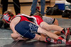West Briar Middle School hosts the 16-team middle school state wrestling team championship in Houston. In this match, Houston's St. John's School's Mavericks wrestlers compete with West Briar Middle School Grizzlies. W Briar wins.