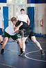 Area junior and high school wrestlers participate in Coach Jim Gumm's IOWA-Style wrestling camp at West Briar Middle School June 4-6, 2009.