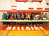 Eleven high-school atheletes from Bellaire High School, Bellaire Texas sign scholarship obligations to play college athletics.