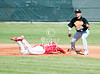 Galena Park's 4A Yellowjackets travel to Houston ISD's Butler Athletics Complex to play against the top-ranked 5A Bellaire Cardinals in varsity baseball in the second game of the 2010 42nd Knoblauch Tournament. Galena Park pulls off a convincing 4-3 win with ace pitching by senior Rodolfo Treviso.
