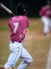 The St. Thomas High School Eagles promote Breast Cancer awareness by hosting the Pink Baseball Classic at Father Wilson against the Crusaders of Strake Jesuit. Both teams of boys suited up in pink t-shirts for the occasion.