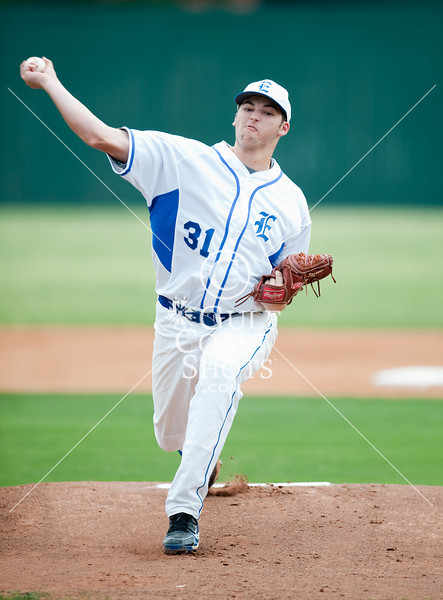 Galveston's Ball High School Tornadoes come to Bellaire to compete in varsity baseball against the Knights of Episcopal High School. Episcopal wins.
