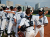 The Rangers of Clements High School advance to the Texas 5A state championship baseball tournament with a win of the second game against the Mustangs of Memorial in the best of 3 state Region 3 state semis at Rice University's Reckling Park. The Rangers win 4-2.