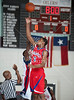 Alief Taylor's Lions and the Panthers of Duncanville boys varsity basketball teams face off at Pearland High School as part of the McDonald's Invitational Nov 19 in pool play.  Duncanville wins.