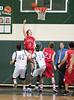 The Spartans of Stratford High School host rival Mustangs of Memorial for men's junior varsity basketball.