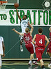 The Spartans of Stratford High School host rival Mustangs of Memorial for men's junior varsity basketball.