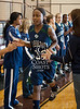 Cinco Ranch and College Park girls varsity basketball teams face off at Pearland High School as part of the McDonald's Invitational Nov 19 in pool play.  Cinco Ranch wins
