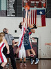 Tomball High School's Cougars and Klein Collins' Tigers girls varsity basketball teams face off at Pearland High School as part of the McDonald's Invitational Nov 19 in pool play.  Tomball wins.