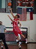 North Shore's Mustangs and San Antonio Wagner's Thunderbirds girls varsity basketball teams face off at Pearland High School as part of the McDonald's Invitational Nov 19 in pool play. North Shore wins.