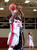 """The Kinkaid Falcons travel to St. John's to play the Mavericks in this ladies' varsity basketball game, an SPC """"counter"""" leading up to season's end. The Knights win."""