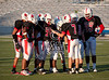Bellaire High School's football squads scrimmage at Delmar Stadium in the annual red-white game.
