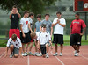 Houston's St. John's School hosts Saturday morning football tryouts for upper-school new and returning students on both the Varsity and JV teams.