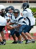 St. John's Mavericks 8th grade football team hosts KIPP Academy South. SJS wins 34-6.