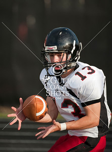 St. John's School's previously undefeated Mavericks JV football squad visits St. Thomas where they suffer a 35-0 loss at the hands of the Eagles.