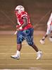 The Marlins of HISD's Madison High School play Lamar High's Redskins at HISD Delmar Stadium for varsity football.