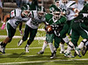 Strake Jesuit's varsity football team travels to Tully Stadium to play against the Spartans of Stratford.