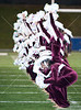 Lamar's Redskins play Cinco Ranch at Tully Stadium for football