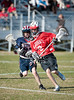The Wolves of St. Francis Episcopal come to Scotty Caven field for a game of 7th grade boys lacrosse against the Mavericks of St. John's. Mavs win.