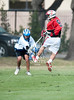 St. John's Mavericks travel to nearby Episcopal High School to play the Knights in JV Boys Lacrosse. After tying it up 4-4 with moments to spare, SJS falls to Episcopal in sudden death when the Knights score in the first seconds of overtime.