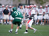 The Crusaders of Strake Jesuit Prep play the Mavericks of St. John's in boys varsity lacrosse. SJS wins 5-4.