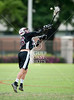 Cinco Ranch Lacrosse Cougars' JV boys team play the Mavericks of St. John's School at Scotty Caven field in Houston. Cinco Ranch wins 7-5.