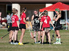 Cedar Park participates in a varsity lacrosse play day organized by St. John's School in Houston. Here they play the hostesses.