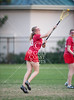 The Bellaire Cardinals play the Mavericks of St. John's in girls varsity lacrosse at Skip Lee Field. SJS wins.