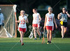 Pin Oak Middle School's Chargers travel to Skip Lee field at St.  John's School in Houston to take on the Lady Mavericks in 8th grade lacrosse.  SJS wins 13-5