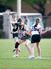 Stratford's Lady Spartans play St. John's Mavericks on Scotty Caven Field in Houston for girls JV1 lacrosse. The Lady Mavs win 12-1