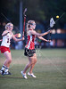 Memorial High School's Lady Mustangs play the Mavericks of St. John's School in Houston for varsity lacrosse. Under a clear sky at Scottland Yard on Scotty Caven Field, the Mavs brought home a 16-9 victory.