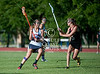 Cy Fair's Iron Maidens girls district  team play St. John's Mavericks in the city finals of varsity lacrosse. CF wins 13-7.
