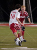 St. John's School's Mavericks travel to St. Thomas High School for boys' varsity soccer. St. Thomas' Eagles wins 1-0.