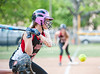 The Episcopal Knights host the Lady Mavericks of St. John's for varsity softball on a perfect Spring afternoon. Things went the Mavs' way, who came away with an 8-3 win.