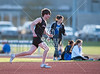 The Mavericks of Houston's St. John's travel to nearby Bellaire's Episcopal High School to compete against the Knights in a track & field meet. SJS wins, 71 to 62 points.
