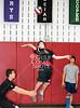 St. John's incoming boys varsity volleyball team plays SJS alumns in the 10th annual alum varsity game at SJS.