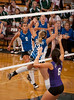 New Braunfels plays Morton Ranch in best of 3 at the Nike Pearland Girls Volleyball tournament.