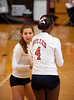Dulles plays Alvin in best of 3 at the Nike Pearland Girls Volleyball tournament.