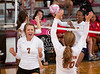 Alvin plays Alamo Heights in best of 3 at the Nike Pearland Girls Volleyball tournament.